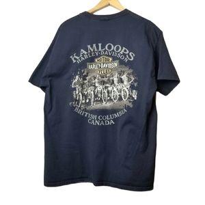 Harley Davidson Kamloops BC 2015 Graphic Shirt